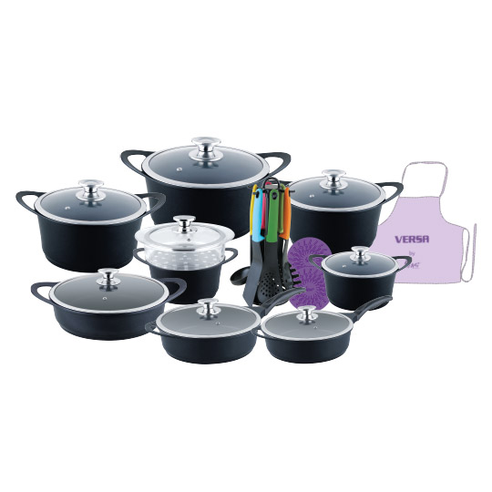 17+10 PCE Super Non-Stick Cookware Set-Versa